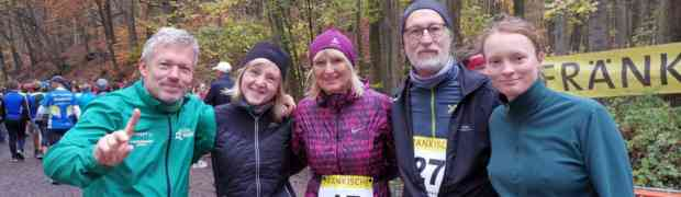 Winterwaldmarathon in Zeil am Main 09.11.